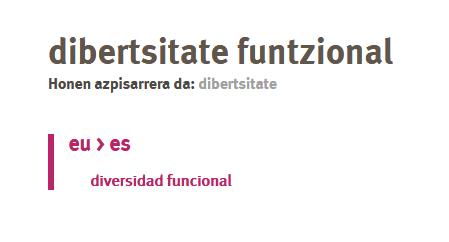 Dibertsitate funtzional